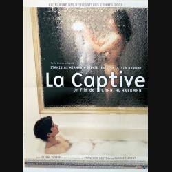 """AFFICHE FILM : affiche de cinéma du film """"La captive"""" dimension 40 x 54 cm"""