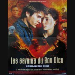 """AFFICHE FILM : affiche de cinéma du film """"Les savates du bon Dieu"""" dimension 40 x 53 cm"""
