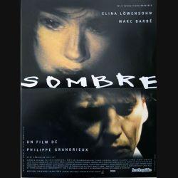 """AFFICHE FILM : affiche de cinéma du film """"Sombre"""" dimension 40 x 53,5 cm"""