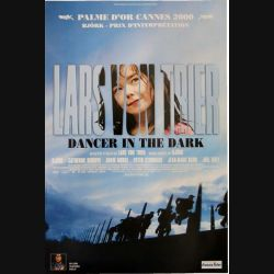 "AFFICHE FILM : affiche de cinéma du film ""Dancer in the dark"" dimension 40 x 60 cm"