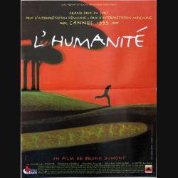 """AFFICHE FILM : affiche de cinéma du film """"L'Humanité"""" dimension 40 x 53 cm"""