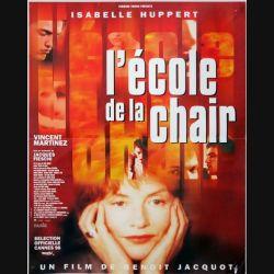 """AFFICHE FILM : affiche de cinéma du film """"L'école de la chair"""" dimension 40 x 54,5 cm"""