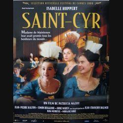 """AFFICHE FILM : affiche de cinéma du film """"Saint Cyr"""" dimension 40 x 53 cm"""