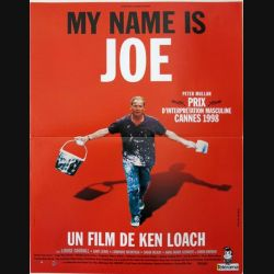 "AFFICHE FILM : affiche de cinéma du film ""My name is Joe"" dimension 40 x 53,5 cm"