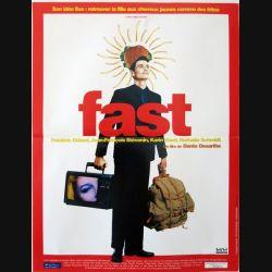"""AFFICHE FILM : affiche de cinéma du film """"Fast"""" dimension 40 x 53 cm"""
