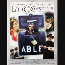 """AFFICHE FILM : affiche de cinéma du film """"La cassette"""" dimension 39,5 x 53,5 cm"""