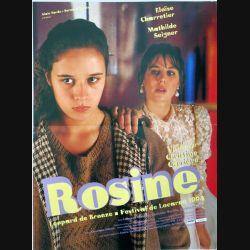 """AFFICHE FILM : affiche de cinéma du film """"Rosine"""" dimension 40 x 54 cm"""