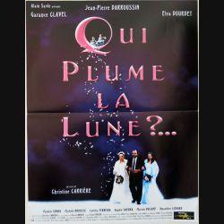 """AFFICHE FILM : affiche de cinéma du film """"Qui plume la lune"""" dimension 40 x 53,5 cm"""