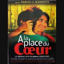 """AFFICHE FILM : affiche de cinéma du film """"A la place du coeur"""" dimension 40 x 54 cm"""