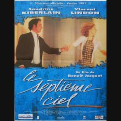 """AFFICHE FILM : affiche de cinéma du film """"Le septième ciel"""" dimension 40 x 53 cm"""