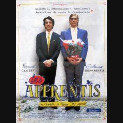 """AFFICHE FILM : affiche de cinéma du film """"les apprentis"""" dimension 40 x 54 cm"""