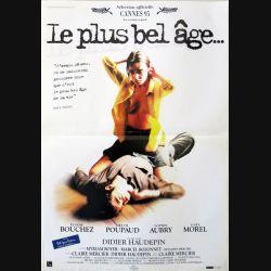 """AFFICHE FILM : affiche de cinéma du film """"Le plus bel âge"""" dimension 40 x 50 cm (E001)"""