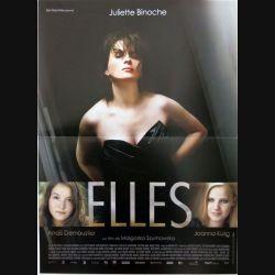 """AFFICHE FILM : affiche de cinéma du film """"Elles"""" dimension 40 x 53 cm (E002)"""