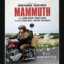 """AFFICHE FILM : affiche de cinéma du film """"Mammuth"""" dimension 39,5 x 49 cm (E002)"""