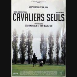 """AFFICHE FILM : affiche de cinéma du film """"Cavaliers seuls"""" dimension 42 x 59 cm (E002)"""