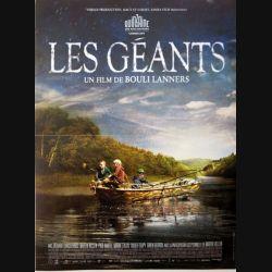 """AFFICHE FILM : affiche de cinéma du film """"Les géants"""" dimension 40 x 53 cm (E002)"""