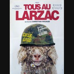 """AFFICHE FILM : affiche de cinéma du film """"Tous au Larzac"""" dimension 40 x 53 cm (E002)"""