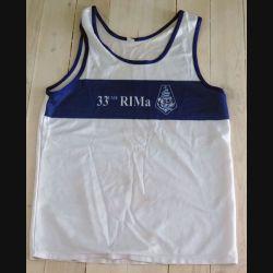 Maillot de sport du 33° RIMA de taille L (C192 - 008)