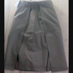 Jupe bermuda d'uniforme français cadre féminin terre de France de taille 40  (C199)