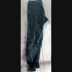 Caleçon long chaud vert arméet noir taille76 de fabrication Gilles 1986 neuf (C198 - 027)