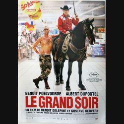"""AFFICHE FILM : affiche de cinéma du film """" Le grand soir """" dimension 39 x 53 cm (E002)"""