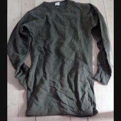 sous vêtement chaud d'uniforme français 1989 taille 96 de fabrication Cerizay 1989 (C198 - 028)