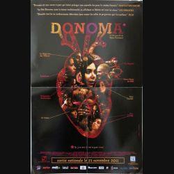 """AFFICHE FILM : affiche de cinéma du film """" Donoma """" dimension 40 x 60 cm (E002)"""