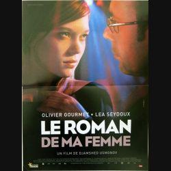 """AFFICHE FILM : affiche de cinéma du film """"Le roman de ma femme"""" dimension 40 x 53 cm (E002)"""