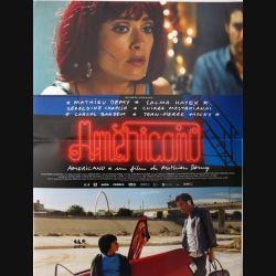 "AFFICHE FILM : affiche de cinéma du film ""Americano"" dimension 39 x 53 cm (E002)"