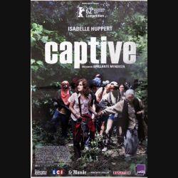 """AFFICHE FILM : affiche de cinéma du film """"Captive"""" dimension 40 x 60 cm (E002)"""