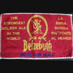 Tissu de dessous de bière Belzebuth the strongest golden ale in the world (C144)