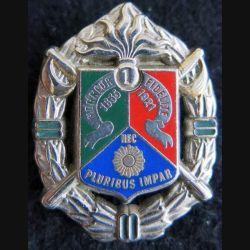 1° REC : insigne métallique du 1° régiment étranger de cavalerie de fabrication Guymo Paris