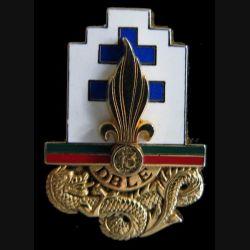 13° DBLE : 13° demi brigade de la légion étrangère Y. Boussemart H. 119 vert sur rouge