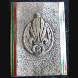 2° REI : insigne du 2° régiment étranger d'infanterie de fabrication Drago G. 2333