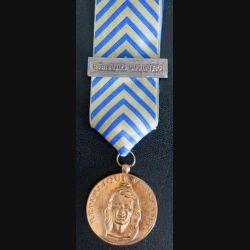 FRANCE : médaille de reconnaissance de la Nation en métal doré de fabrication libanaise (Rare)