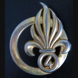 4° REI : insigne de béret du 4° régiment étranger d'infanterie Coinderoux G.3840