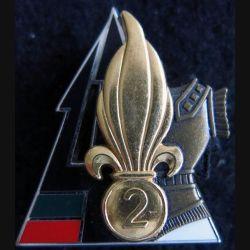 2° REG : 2° régiment étranger de Génie BAT GEN Fev à Mai 2003 fabrication  Arthus Bertrand N° 219