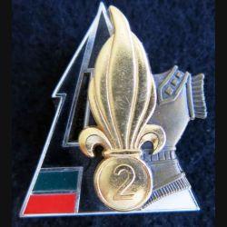 2° REG : 2° régiment étranger de Génie BAT GEN Fev à Mai 2003 fabrication  Arthus Bertrand N° 588