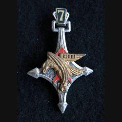 2° REI : Insigne métallique de la 7° Cie portée Sahara du 2° régiment étranger d'infanterie Drago R75