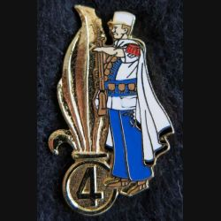 4° REI : Pin's du 4° régiment étranger d'infanterie méhariste Ségalen collection