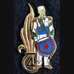 4° REI : Pin's du 4° régiment étranger d'infanterie tambour Ségalen collection