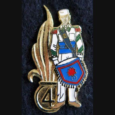 4° REI : Pin's du 4° régiment étranger d'infanterie tambour Ségalen collection
