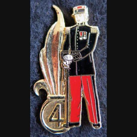 4° REI : Pin's du 4° régiment étranger d'infanterie officier Ségalen collection