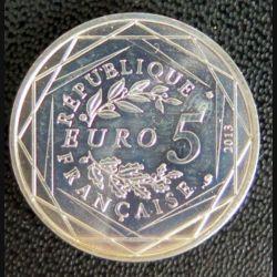 FRANCE : pièce de 5 euros argent liberté 2013