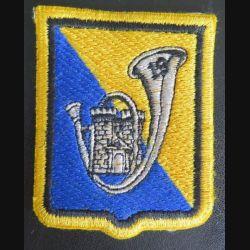 19° BCP : insigne tissu du 19° bataillon de chasseurs à pieds