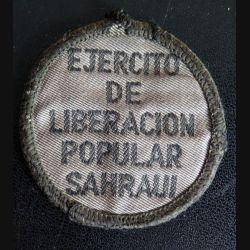 Insigne tissu basse visibilité du Front Polisario Ejercito de liberacion popular saharaui