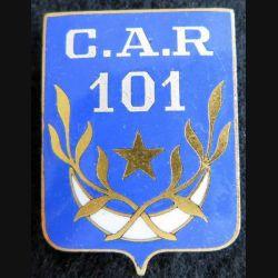CAR 101 : Compagnie administrative régionale 101 ALGER Drago Paris en émail