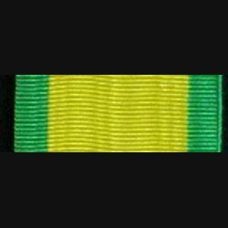 FRANCE : Ruban de la médaille militaire de longueur 13 cm