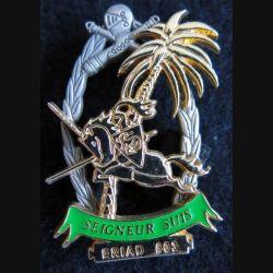 503° GE : insigne métallique du 3° escadron du 503° groupe d'escadrons opération Licorne ERIAD 503 de fabrication Delsart