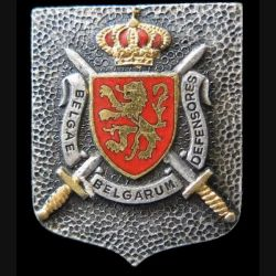 "BELGIQUE : insigne état major Commando Territorial Interforces  ""Belgae Belgarum defensores"" Drago"